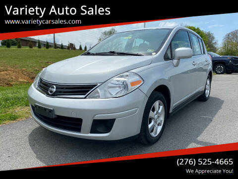 2012 Nissan Versa for sale at Variety Auto Sales in Abingdon VA
