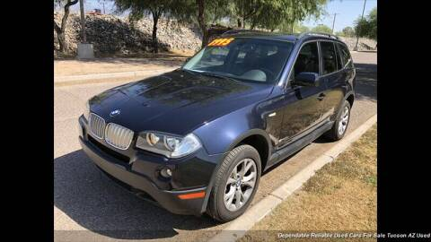 2009 BMW X3 for sale at Noble Motors in Tucson AZ