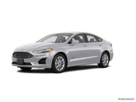 2019 Ford Fusion Hybrid for sale at Ken Wilson Ford in Canton NC