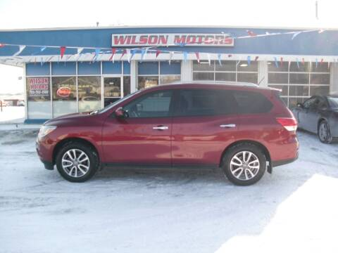 2014 Nissan Pathfinder for sale at Wilson Motors in Junction City KS