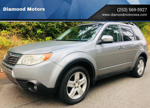 2010 Subaru Forester for sale at Diamond Motors in Lakewood WA