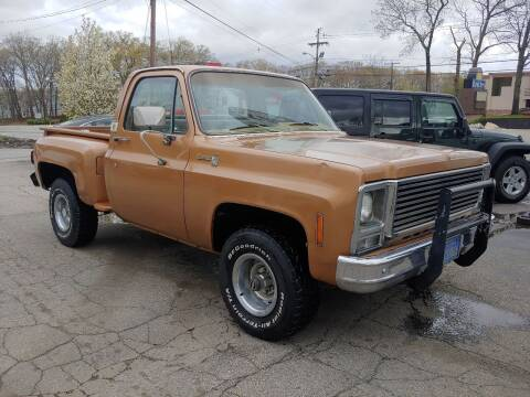 1979 Chevrolet C/K 10 Series for sale at FIORE'S AUTO & TRUCK SALES in Shrewsbury MA