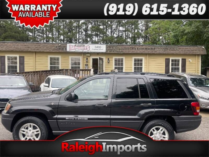 2004 Jeep Grand Cherokee for sale at Raleigh Imports in Raleigh NC
