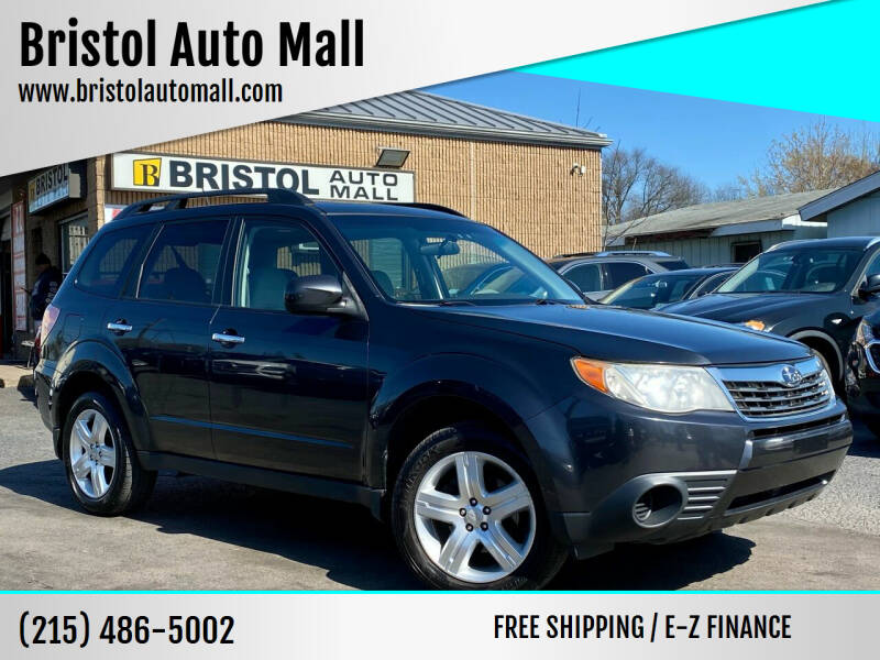 2009 Subaru Forester for sale at Bristol Auto Mall in Levittown PA