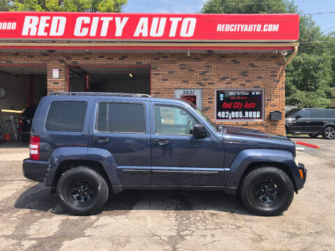 2008 Jeep Liberty for sale at Red City  Auto in Omaha NE