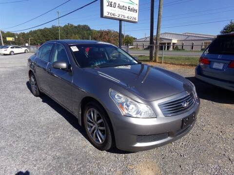 2007 Infiniti G35 for sale at J & D Auto Sales in Dalton GA