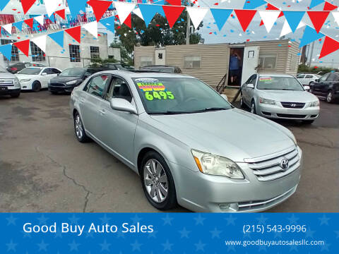 2005 Toyota Avalon for sale at Good Buy Auto Sales in Philadelphia PA