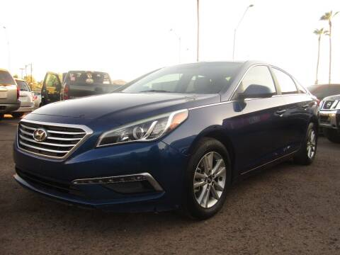 2015 Hyundai Sonata for sale at More Info Skyline Auto Sales in Phoenix AZ