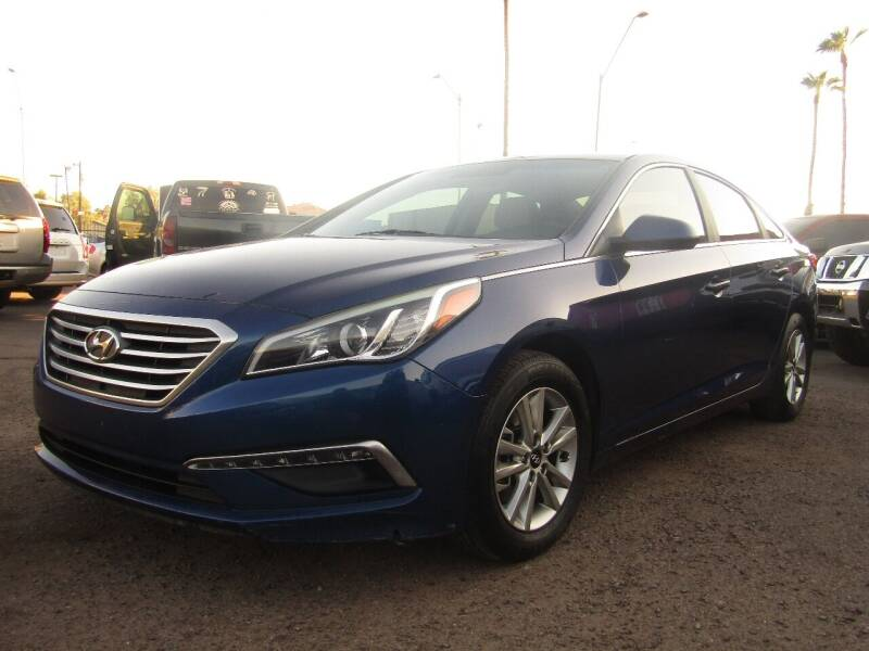 2015 Hyundai Sonata for sale at More Info Skyline Auto Sales in Phoenix AZ