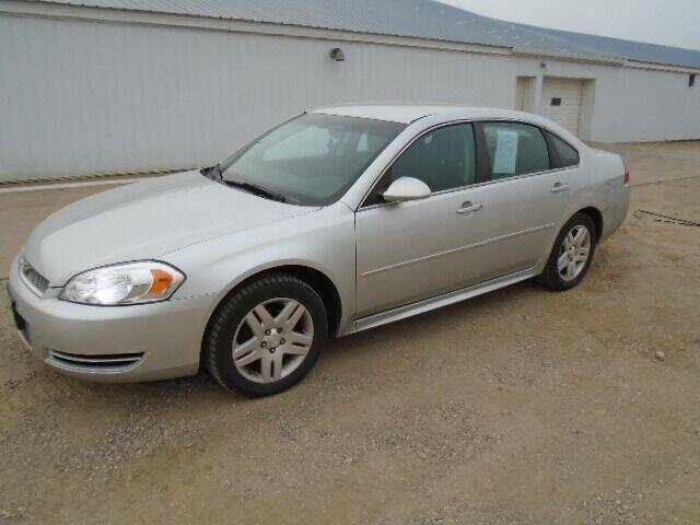 2012 Chevrolet Impala for sale at SWENSON MOTORS in Gaylord MN