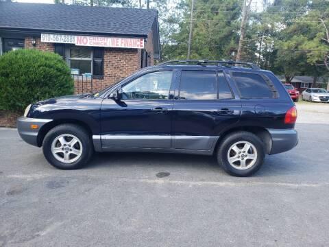 2004 Hyundai Santa Fe for sale at Tri State Auto Brokers LLC in Fuquay Varina NC