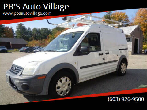 2013 Ford Transit Connect for sale at PB'S Auto Village in Hampton Falls NH