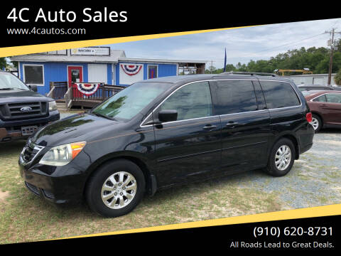 2008 Honda Odyssey for sale at 4C Auto Sales in Wilmington NC