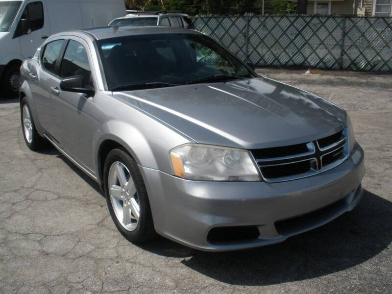 2013 Dodge Avenger for sale at Priceline Automotive in Tampa FL
