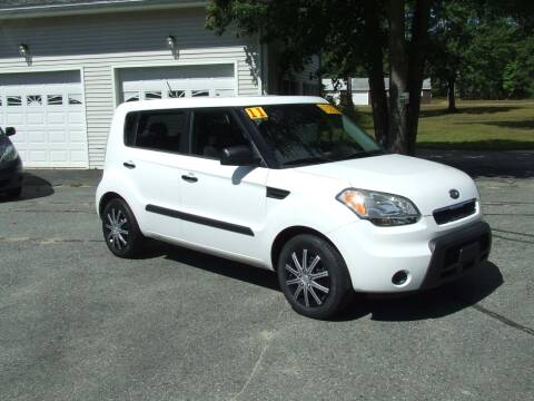 2011 Kia Soul for sale at DUVAL AUTO SALES in Turner ME