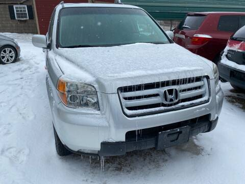 2006 Honda Pilot for sale at Richard C Peck Auto Sales in Wellsville NY