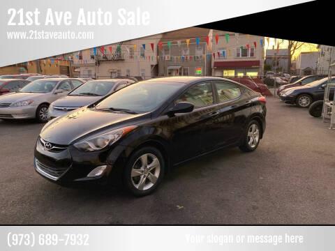 2013 Hyundai Elantra for sale at 21st Ave Auto Sale in Paterson NJ