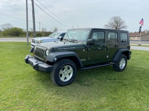 2008 Jeep Wrangler Unlimited for sale at The Auto Depot in Mount Morris MI