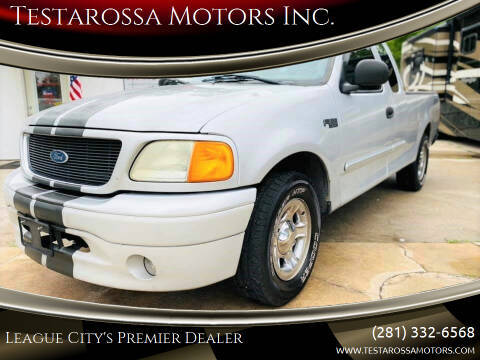 2004 Ford F-150 Heritage for sale at Testarossa Motors Inc. in League City TX