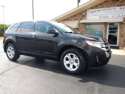 2013 Ford Edge for sale at Browning's Reliable Cars & Trucks in Wichita Falls TX