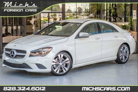 2015 Mercedes-Benz CLA for sale at Mich's Foreign Cars in Hickory NC