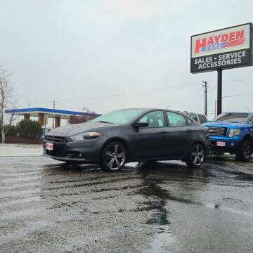 2014 Dodge Dart for sale at Hayden Cars in Coeur D Alene ID