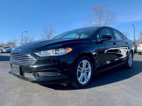 2018 Ford Fusion for sale at Columbus Car Trader in Reynoldsburg OH