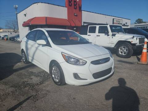2015 Hyundai Accent for sale at Best Buy Wheels in Virginia Beach VA