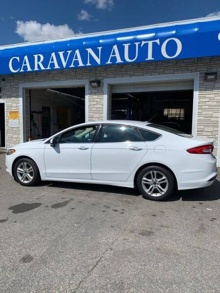 2018 Ford Fusion for sale at Caravan Auto in Cranston RI