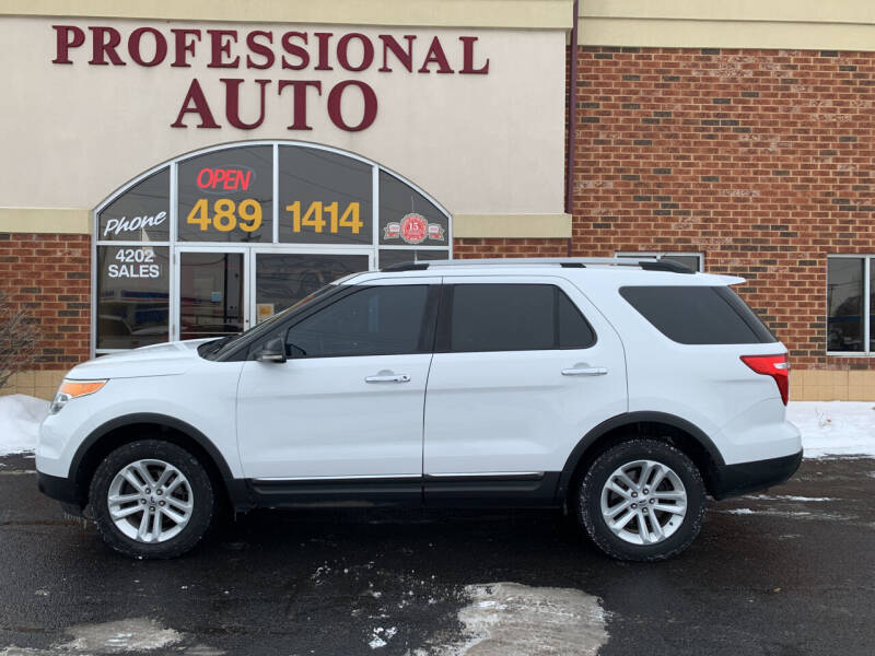 2013 Ford Explorer for sale at Professional Auto Sales & Service in Fort Wayne IN