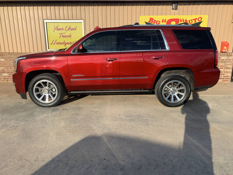 2017 GMC Yukon for sale at BIG 'S' AUTO & TRACTOR SALES in Blanchard OK
