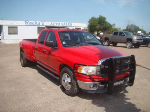 2005 Dodge Ram Pickup 3500 for sale at Rocky's Auto Sales in Corpus Christi TX