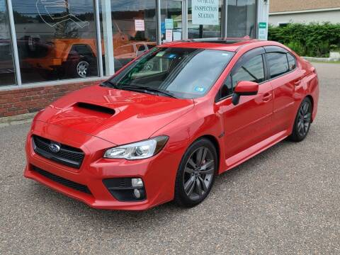 2017 Subaru WRX for sale at Green Cars Vermont in Montpelier VT