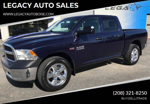 2013 RAM Ram Pickup 1500 for sale at LEGACY AUTO SALES in Boise ID