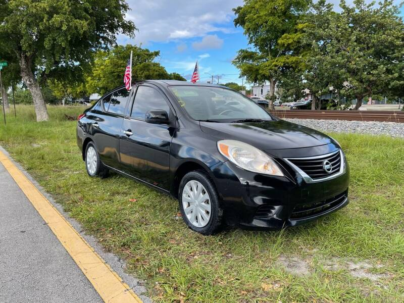 2012 Nissan Versa for sale at WRD Auto Sales in Hollywood FL