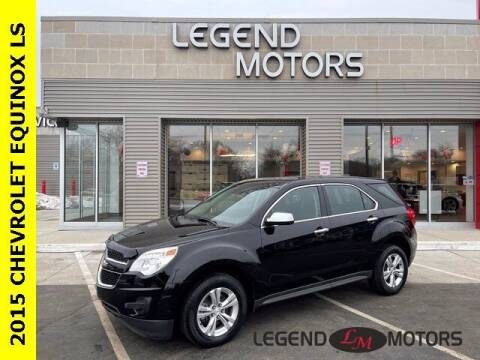 2015 Chevrolet Equinox for sale at Legend Motors of Waterford in Waterford MI