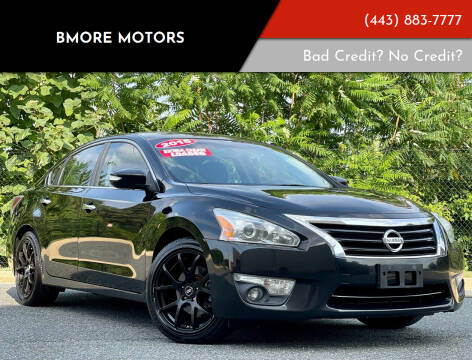 2015 Nissan Altima for sale at Bmore Motors in Baltimore MD