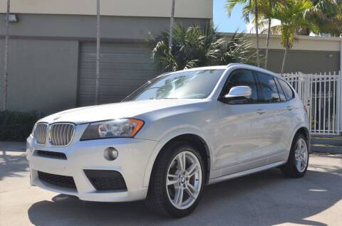 2013 BMW X3 for sale at ALWAYSSOLD123 INC in North Miami Beach FL