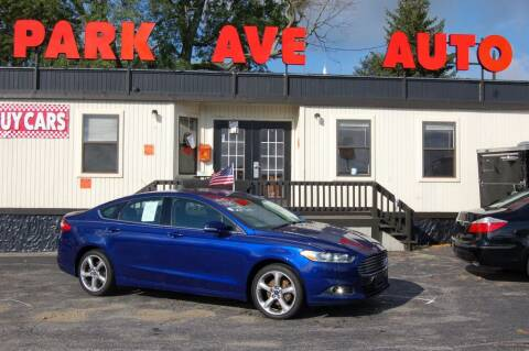 2015 Ford Fusion for sale at Park Ave Auto Inc. in Worcester MA