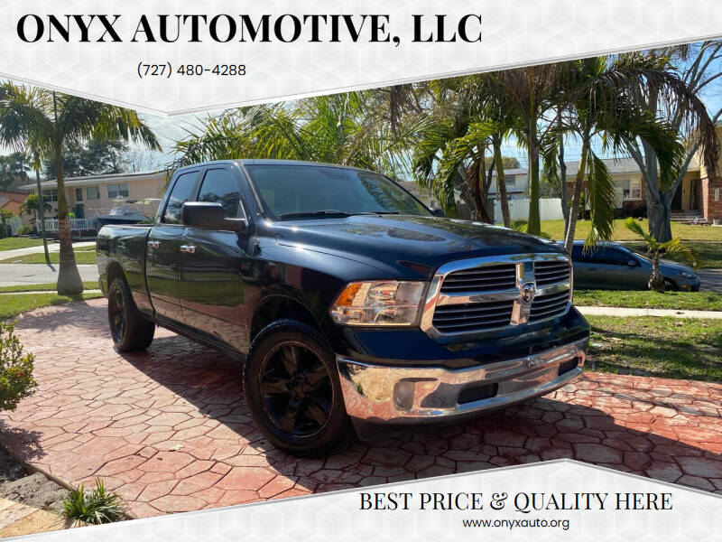 2015 RAM Ram Pickup 1500 for sale at ONYX AUTOMOTIVE, LLC in Largo FL