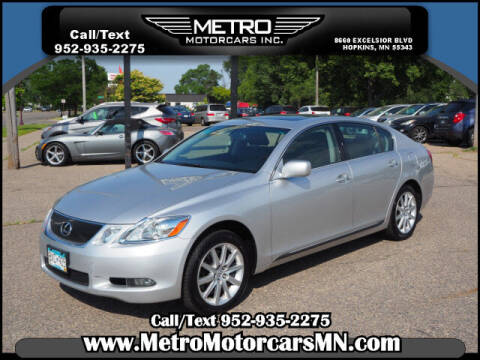 2007 Lexus GS 350 for sale at Metro Motorcars Inc in Hopkins MN