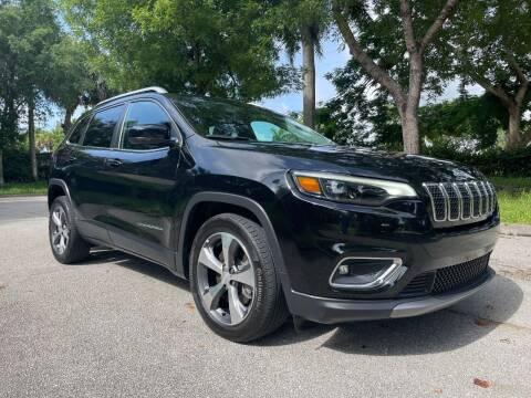 2020 Jeep Cherokee for sale at DELRAY AUTO MALL in Delray Beach FL