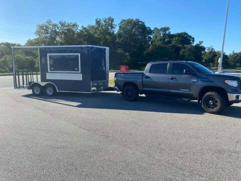 2021 Enclosed 8.5 x 16 TA2 Porch Trailer for sale at Grizzly Trailers - Trailers For Order in Fitzgerald GA
