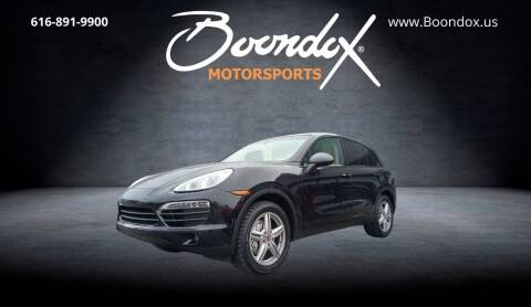 2014 Porsche Cayenne for sale at Boondox Motorsports in Caledonia MI