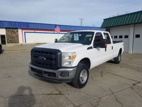 2014 Ford F-250 Super Duty for sale at Bull Mountain Auto, Truck & Trailer Sales in Roundup MT