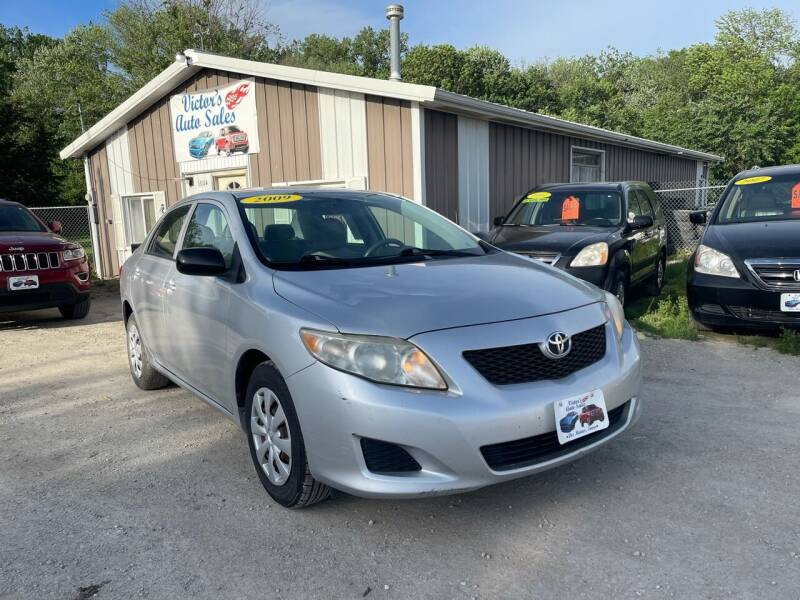 2009 Toyota Corolla for sale at Victor's Auto Sales Inc. in Indianola IA