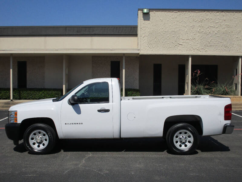 2013 Chevrolet Silverado 1500 4x2 Work Truck 2dr Regular Cab 8 ft. LB - Dallas TX