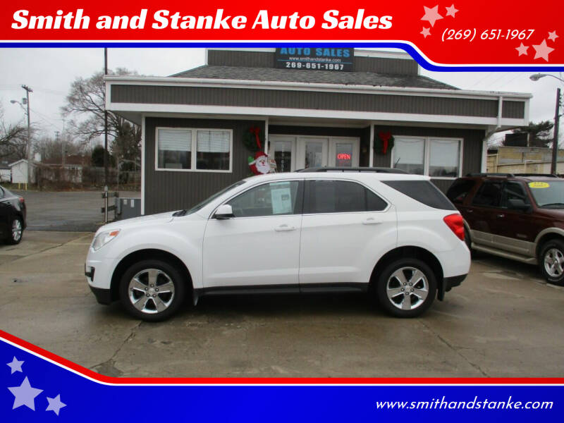 2013 Chevrolet Equinox for sale at Smith and Stanke Auto Sales in Sturgis MI