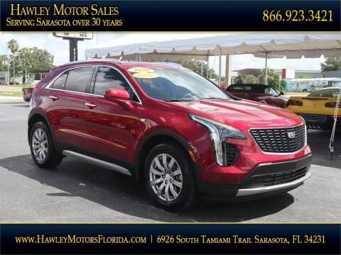 2020 Cadillac XT4 for sale at Hawley Motor Sales in Sarasota FL