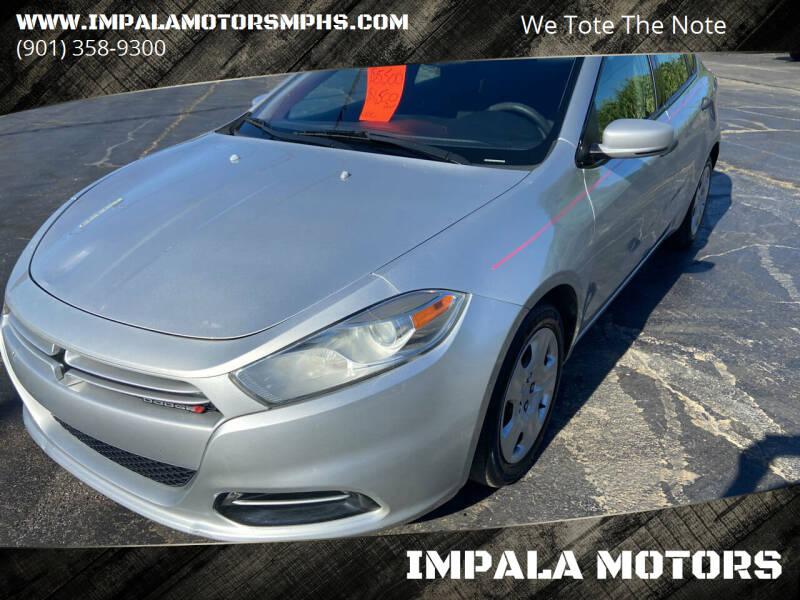 2013 Dodge Dart for sale at IMPALA MOTORS in Memphis TN